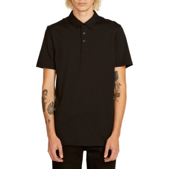 Volcom Black Wowzer Black Polo