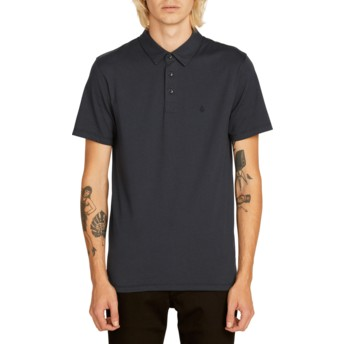 Volcom Navy Wowzer Navy Blue Polo