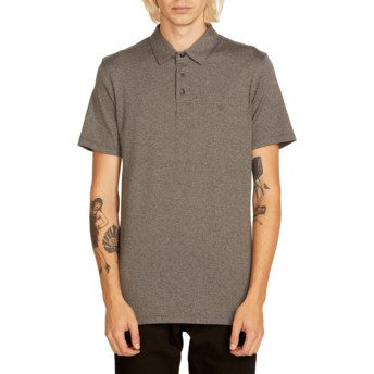 Volcom Stealth Wowzer Grey Polo