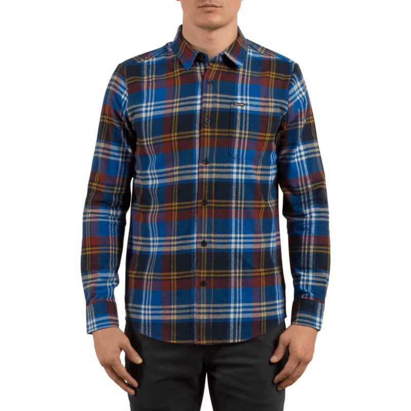 volcom-true-blue-caden-blue-and-red-long-sleeve-check-shirt
