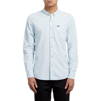 Volcom Chlorine Clast Blue Long Sleeve Shirt