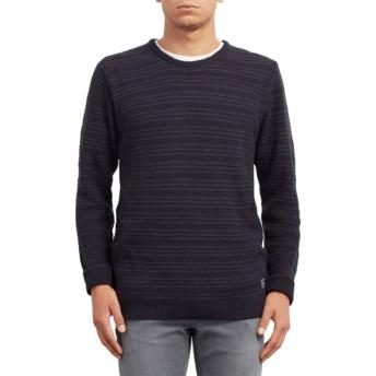 Volcom Navy New Stone Navy Blue Sweater