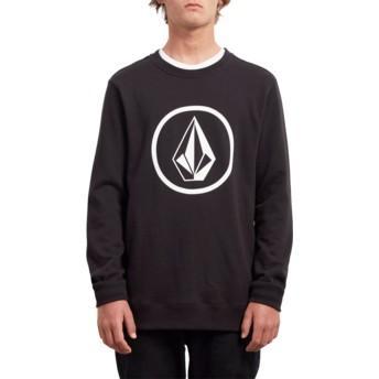 Volcom Long Line Black Stone Black Sweatshirt