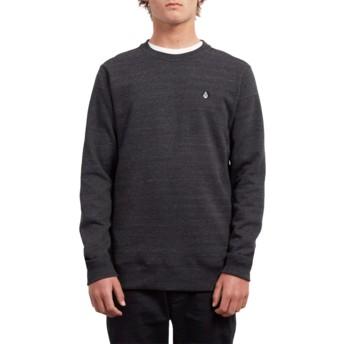 Volcom Sulfur Black Single Stone Black Sweatshirt
