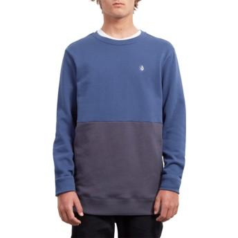 Volcom Matured Blue Single Stone Division Blue Sweatshirt