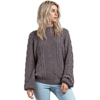 Volcom Heather Grey Hellooo Grey Sweater