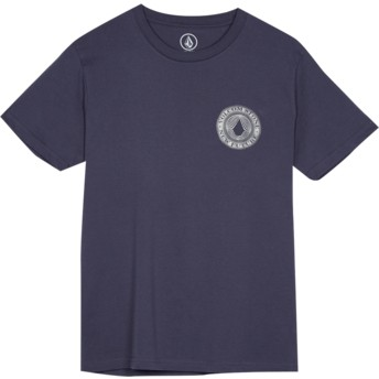 Volcom Youth Midnight Blue Volcomsphere Navy Blue T-Shirt
