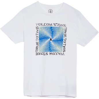 Volcom Youth White Stoneradiator White T-Shirt