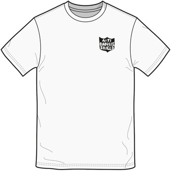 Volcom White Ozzie White T-Shirt
