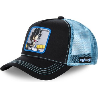 Capslab Vegeta VEGB Dragon Ball Black and Blue Trucker Hat