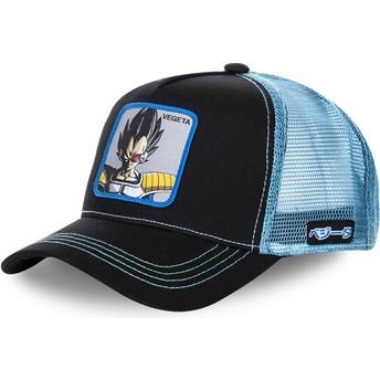 Capslab Vegeta VEGB Dragon Ball Black and Blue Trucker Hat
