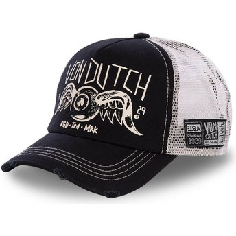 Von Dutch CREW4 Black Trucker Hat