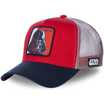 Capslab Darth Vader VAD1 Star Wars Red, White and Navy Blue Trucker Hat