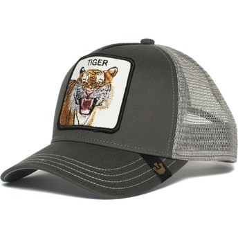 Goorin Bros. Eye of the Tiger Grey Trucker Hat