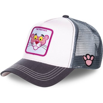 Capslab The Pink Panther PANT1 Pink and Grey Trucker Hat