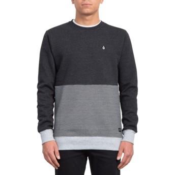 Volcom Sulfur Black Forzee Black Sweatshirt