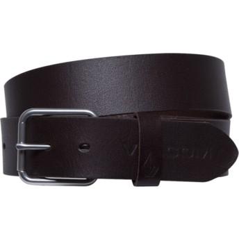 Volcom Brown Effective Brown Belt