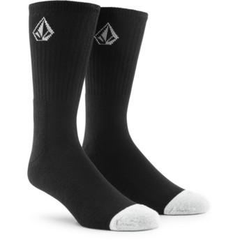 Volcom Small Logo Black Full Stone Black Socks