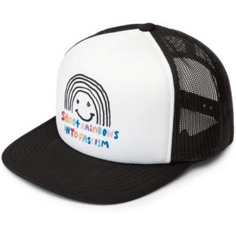 Volcom Multi Salt & Sun White and Black Trucker Hat