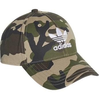 Adidas Curved Brim Trefoil Classic Camouflage Adjustable Cap