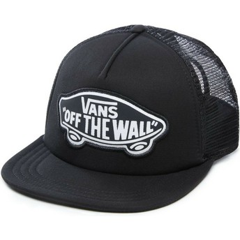 Vans Beach Girl Black Trucker Hat