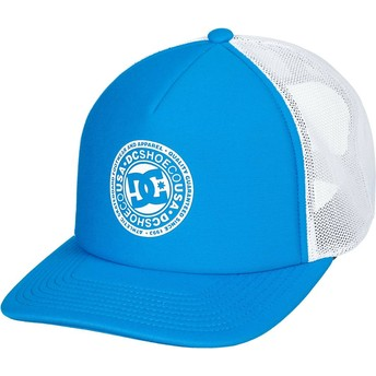 DC Shoes Vested Up Blue and White Trucker Hat