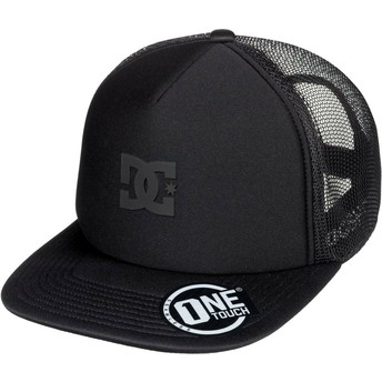 DC Shoes Greet Up Black Trucker Hat