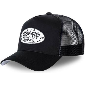 Von Dutch DAM BLA Black Trucker Hat