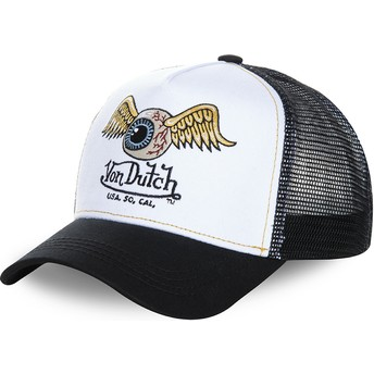 Von Dutch WHI White and Black Trucker Hat