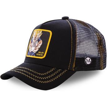 Capslab Majin Vegeta MV2 Dragon Ball Black Trucker Hat