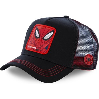 Capslab Spider-Man SPI2 Marvel Comics Black Trucker Hat