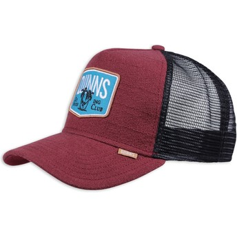 Djinns Nothing Club Sucker Red Trucker Hat