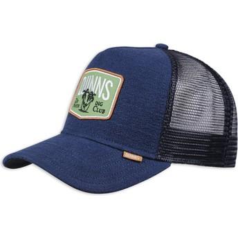 Djinns Nothing Club Sucker Navy Blue Trucker Hat