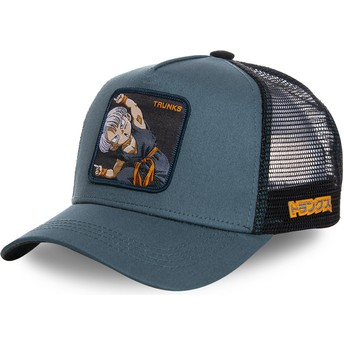 Capslab Trunks Fusion TRK1 Dragon Ball Blue Trucker Hat