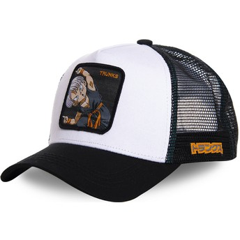 Capslab Trunks Fusion TRK2 Dragon Ball White Trucker Hat