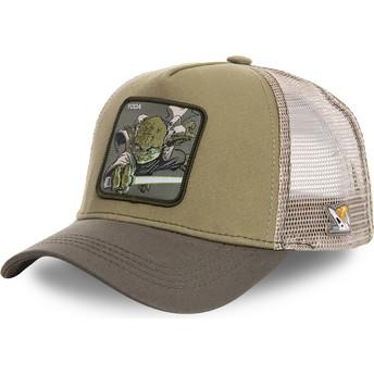 Capslab Yoda YOD Star Wars Green Trucker Hat
