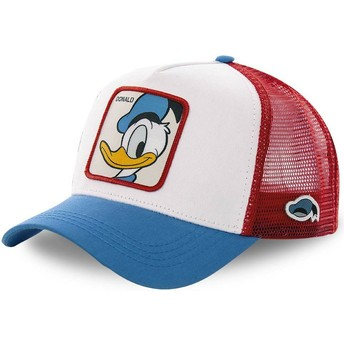 Capslab Donald Duck DUC2 Disney White, Red and Blue Trucker Hat