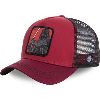 Capslab Darth Vader VAD Star Wars Red Trucker Hat