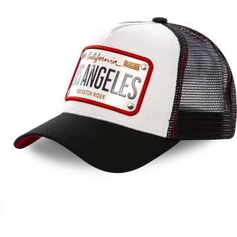 Von Dutch Los Angeles Plate LOS1 White and Black Trucker Hat