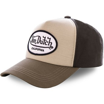 Von Dutch Curved Brim TOI1 Green Snapback Cap