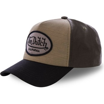 Von Dutch Curved Brim TOI3 Green Snapback Cap