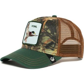 Goorin Bros. Duck Duck Green and Brown Trucker Hat