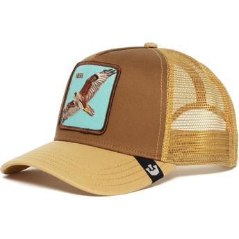 Goorin Bros. Hawk High Brown Trucker Hat