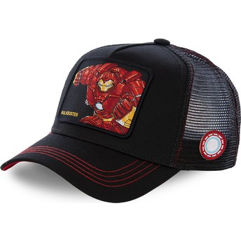 Capslab Iron Man Hulkbuster BUS2 Marvel Comics Black Trucker Hat