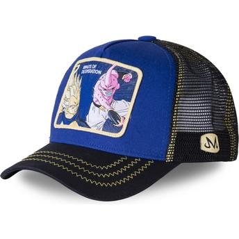 Capslab Vegeta Vs Kid Buu Minute of Desperation DES2 Dragon Ball Blue Trucker Hat