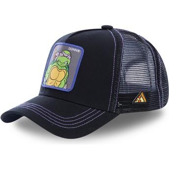 Capslab Donatello DON Teenage Mutant Ninja Turtles Black Trucker Hat