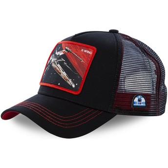 Capslab X-wing starfighter LTD6 Star Wars Black Trucker Hat