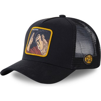 Capslab Mr. Satan SAT3 Dragon Ball Black Trucker Hat