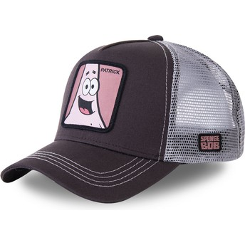 Capslab Patrick Star PAT SpongeBob SquarePants Grey Trucker Hat