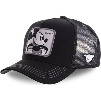 Capslab Mickey Mouse MIC5 Disney Black Trucker Hat